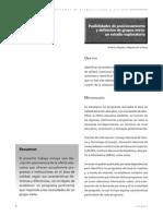Posibilidades de posicionamiento y definición de grupos meta
