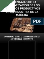 VENTAJAS Y DESVENTAJAS DE LA AUTOMATIZACIÓN DE LOS