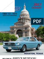 John's Mustang 2013 Classic Ford Mustang Catalog