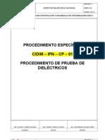 PROCEDIMIENTO DE PRUEBA DE DIELÈTRICOS 2