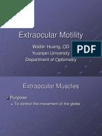 Extraocular Motility
