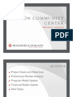 Progress Report on Market and Cost Study for Reston Recreation Center, Brailsford & Dunlavey, March 2013