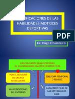Clasificaciones de Las h.m.d.