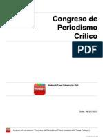 Congreso de Periodismo Crítico (I)