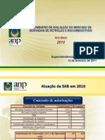 VI Seminário de Avaliação do Mercado de Derivados de Petróleo e Biocombustíveis - ano base 2010