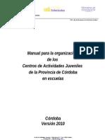 Manual CAJ 2010 en Escuelas