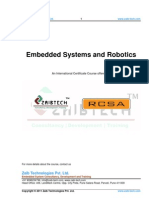Syllabus - Embedded Systems and Robotics
