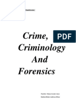 Crime,Criminology