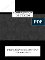 Comprension de Textos