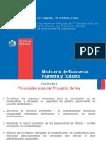 Presentación Proyecto de Modificación Ley de Cooperativas