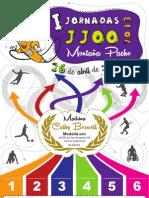 Cartel JJOO Colegio Montana Pacho