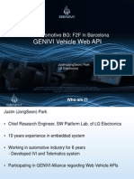 Genivi Vehicle Web API w3c Automotivebg Ws Lge