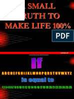 Mathematics of Life (Attitude)