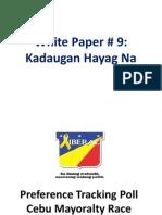 White Paper No. 11