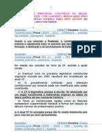 47 Paginas de Perguntas de Constitucional Destacadas Pelo Capitao Estrela Somente Da Cespe Com Gabarito - 29-03-2013