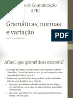 Gramáticas, normas e variação _ECo-2013 - Cópia (2)