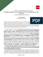 IV Rapporto Ires Cgil marzo 2009 - Sintesi per la stampa