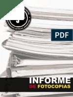Informe de Fotocopias - FEUCA