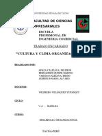 CULTURA Y CLIMA ORGANIZACIONAL.doc