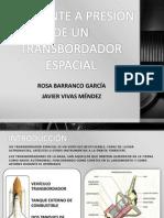 RECIPIENTE A PRESIÓN DE UN TRANSBORDADOR ESPACIAL