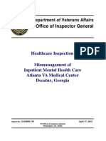 Healthcare Inspection