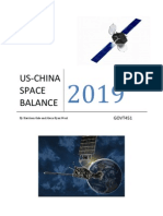 US-China Space Balance 2019