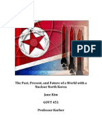 The Past, Present and Future of a World with a Nuclear North Korea