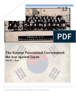The Korean Provisional Government