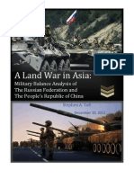 A Land War in Asia