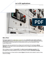 Electrical-Engineering-portal.com-Using AC Switchgear in DC Applications