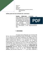 EXTINCIÓN DE ALIMENTOS-MARIO MERCADO CCASANI.