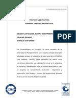 Programa de Practica Foniatria