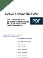Suelo y Arquitectura