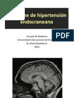 Síndrome de hipertensión endocraneana