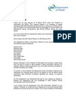 DoH Meetings With Patrick Wintour FOI