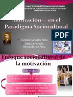 Paradigma Sociocultural (motivación)