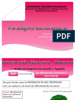 Mas Temas en El Paradigma Sociocultural