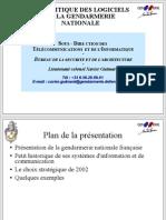 Gendarmerie Nationale Logiciels Libres