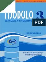 Mod Leng y Literatura 3 Sec III Bim