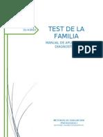 Manual Test de La Familia