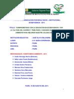 INNOVACIÓN EDUCATIVA INSTITUCIONAL - 2011