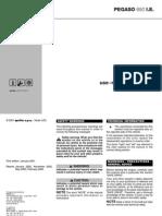 Pegaso 650 IE Manual English 2004