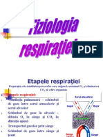The phisiology of respiration
