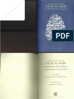 Selections From the Fath Al Bari Commentary on Sahih Al Bukhari by Ibn Hajar Al Asqalani Translated by Abdal Hakim Murad
