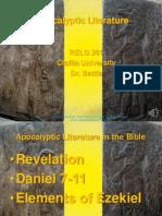 Biblical Literature Lecture 11 Apocalyptic Literature