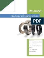 Procesos de Manufatura - Acabados Superficiales 1 - Manuel Peña A64360