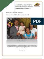 INFORME MISIONERO A 2013 enero - APARTADÓ, DISTRITO 12
