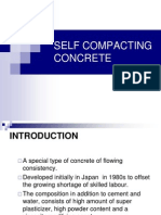 SELF COMPACTING CONCRETE ppt