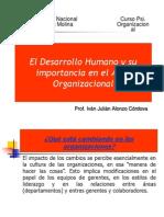 Desarrollo Humano - Organizacional