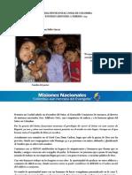 Informe Misionero a Febrero 2013 - Chicó, Bogotá - Distrito 2